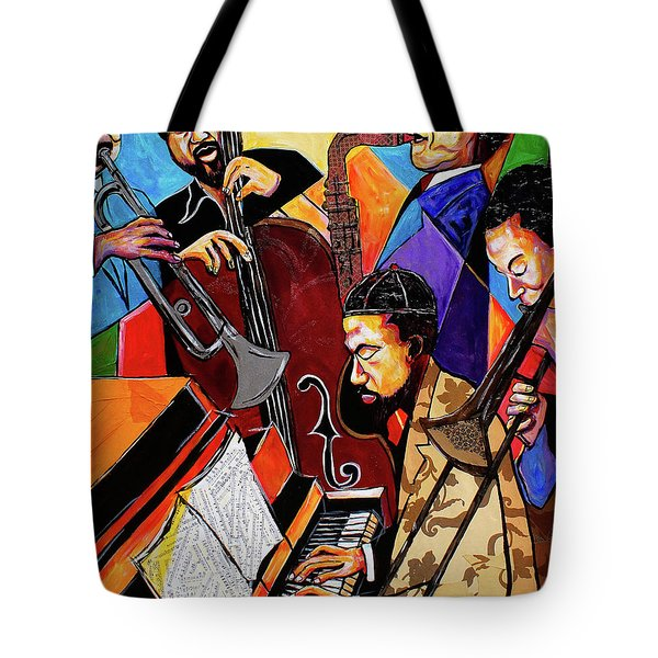 Modern Jazz Quintet Side B Tote Bag
