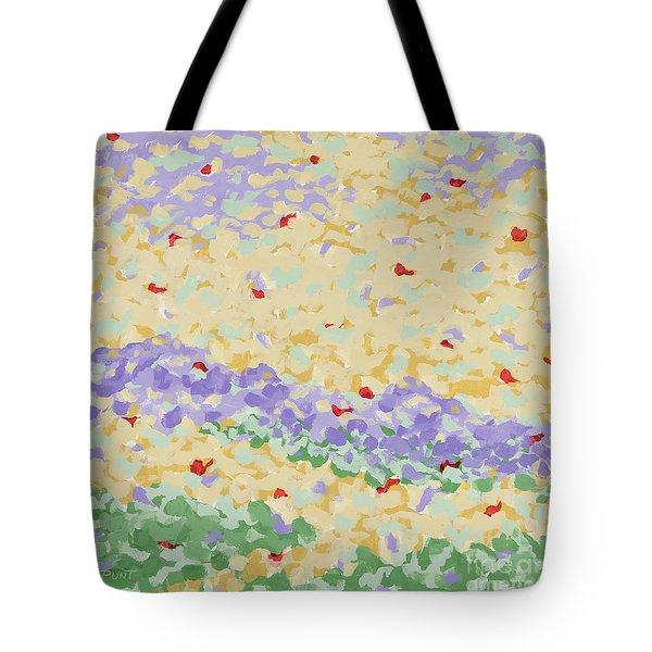 Modern Landscape Painting 4 Tote Bag