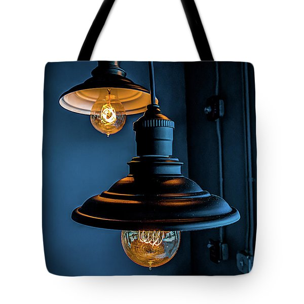 Modern Lighting Tote Bag