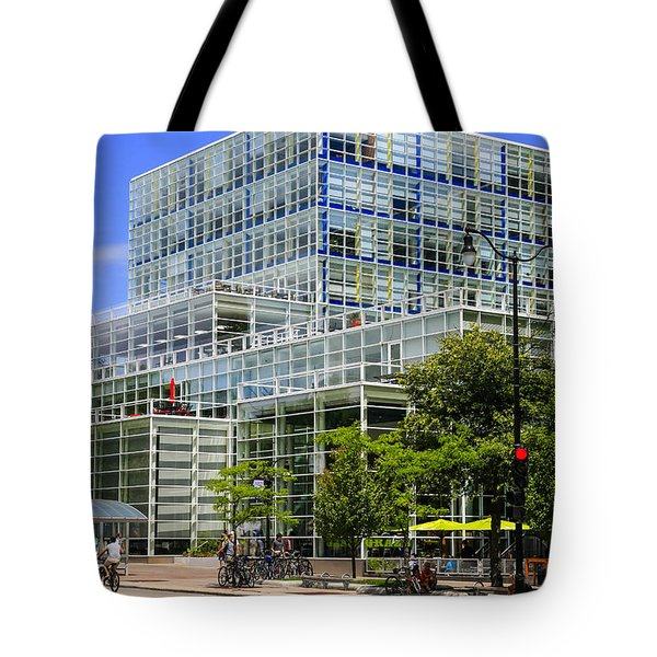 Modern Madison Tote Bag by Chris Smith