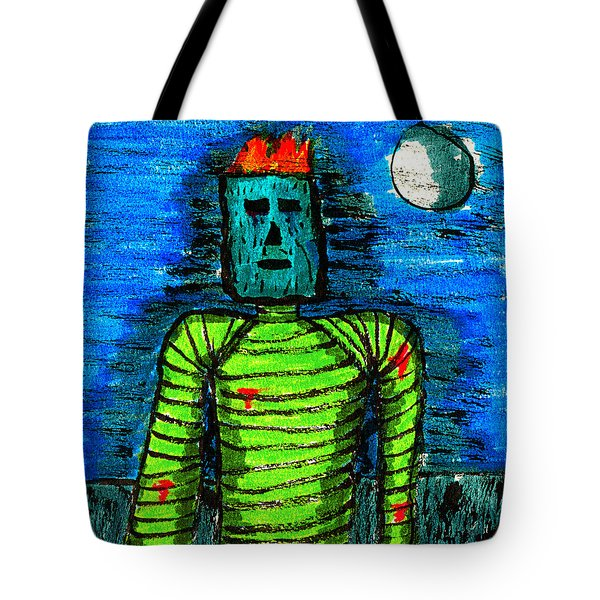 Modern Prometheus Tote Bag