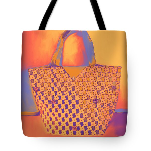 Modern Shopping Bag Tote Bag