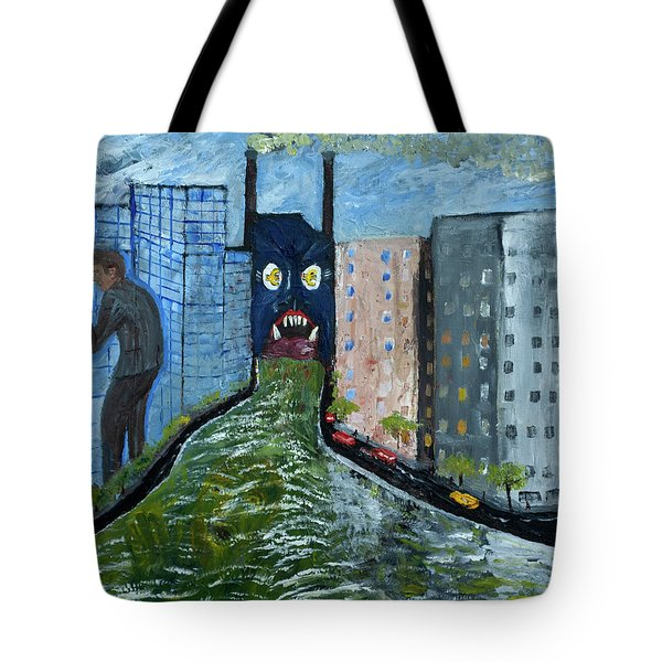 Modern Slavery In A Soulless Society. Tote Bag