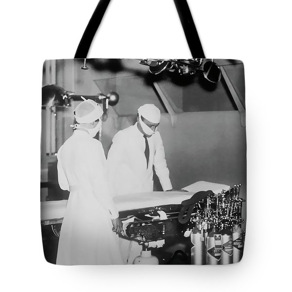 Tote Bag featuring the photograph Modern Surgery by Daniel Hagerman