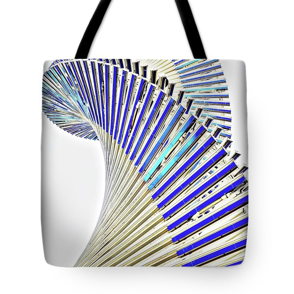 Modern Twist Sculpture Tote Bag
