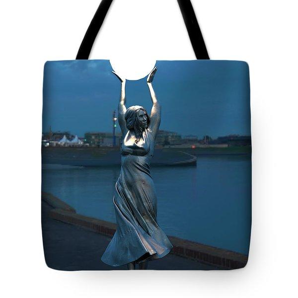 Modernist Streetlight 04 Tote Bag