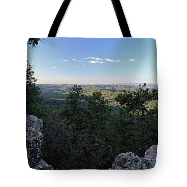 Tote Bag featuring the photograph Mogollon Morning by Gary Kaylor