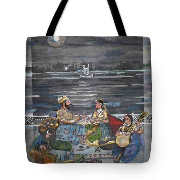 Mogul Moonlight Tote Bag by Vikram Singh