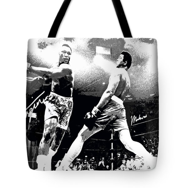 Mohamed Ali Float Like A Butterfly Tote Bag