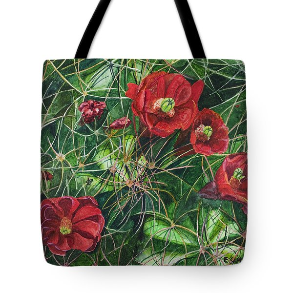 Mohave Mound Cactus Tote Bag