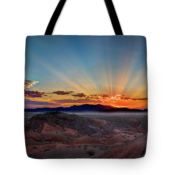 Mohave Sunrise Tote Bag