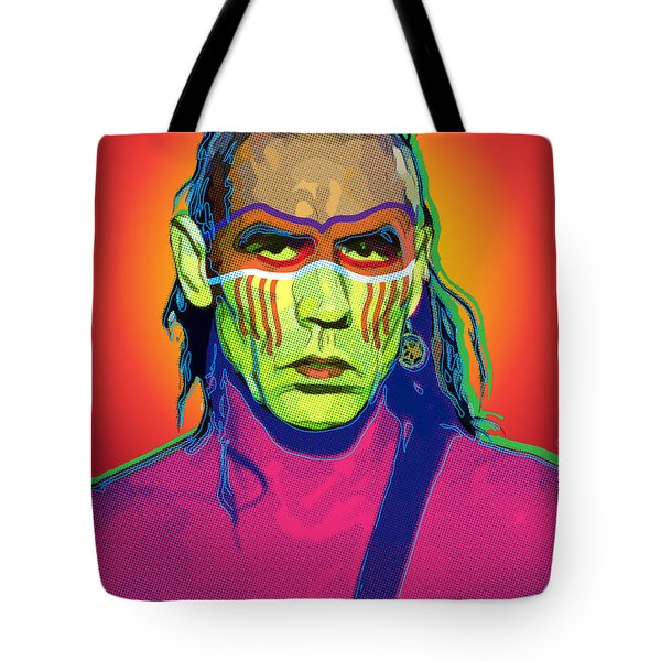 Mohawk Tote Bag by Gary Grayson