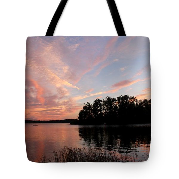 Mohawk Island Aglow Tote Bag
