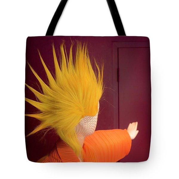 Mohawk Tote Bag by Scott Meyer