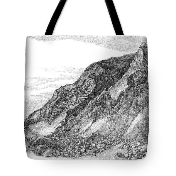 Mohegan Bluff Block Island Tote Bag