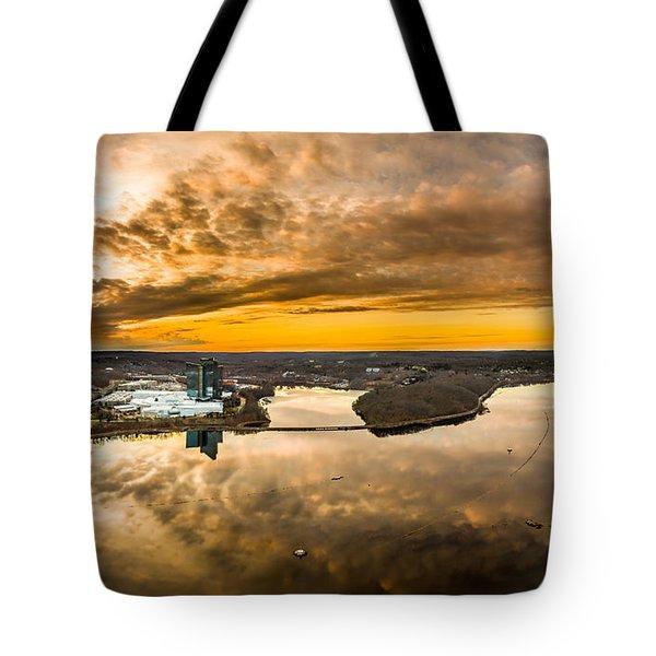 Mohegan Sun Sunset Tote Bag