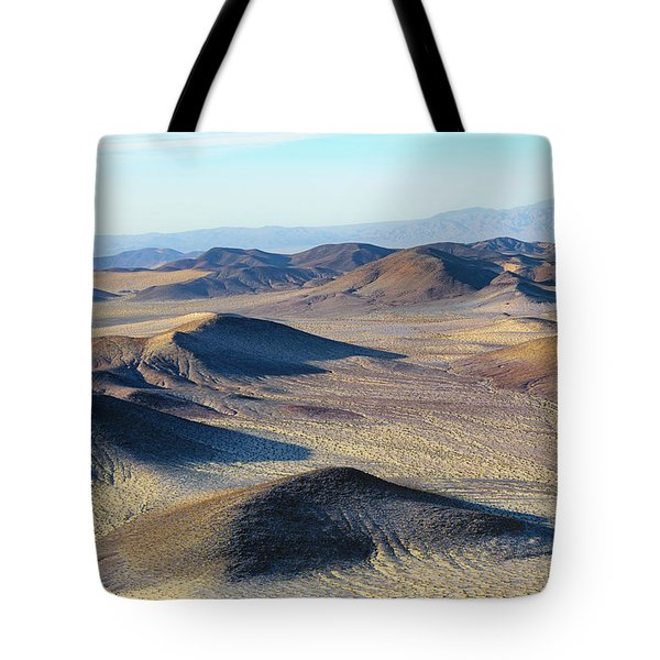 Tote Bag featuring the photograph Mojave Desert by Jim Thompson