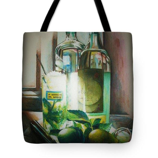 Mojito Tote Bag by Alessandra Andrisani