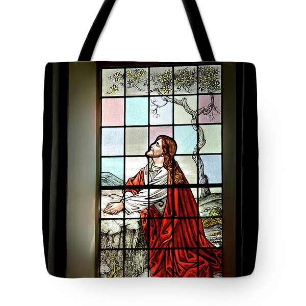 Mokuaikaua Church Stained Glass Window Tote Bag