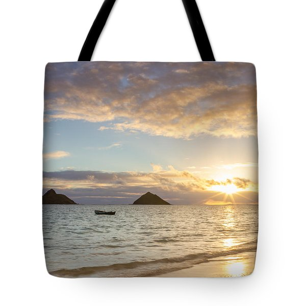 Mokulua Morning Tote Bag