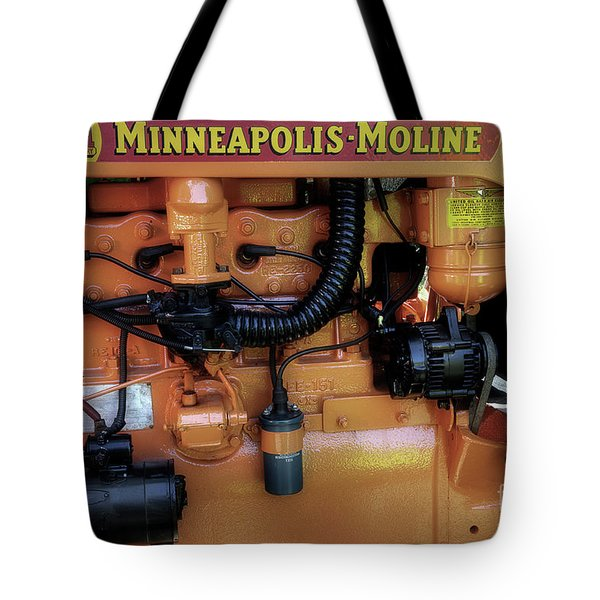 Moline Engine Tote Bag