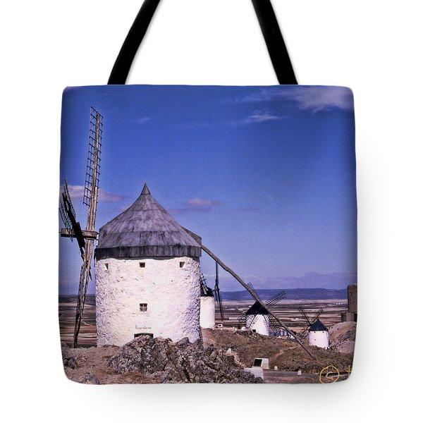 Molinos De La Mancha Tote Bag