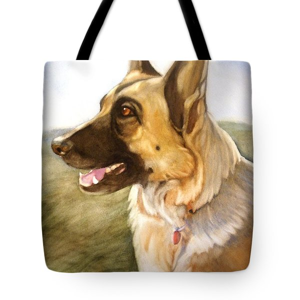 Mollie Tote Bag by Marilyn Jacobson