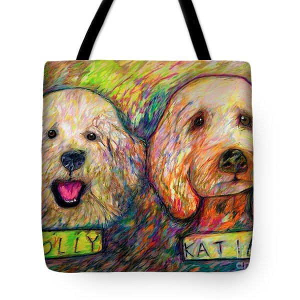 Molly And Katie Tote Bag