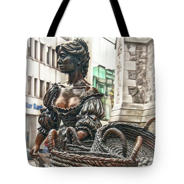 Tote Bag featuring the photograph Molly Malone by Hanny Heim