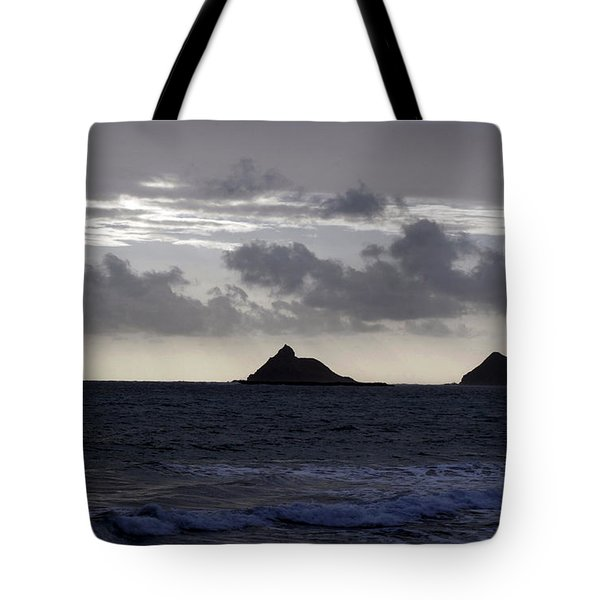 Molokai From Oahu Tote Bag