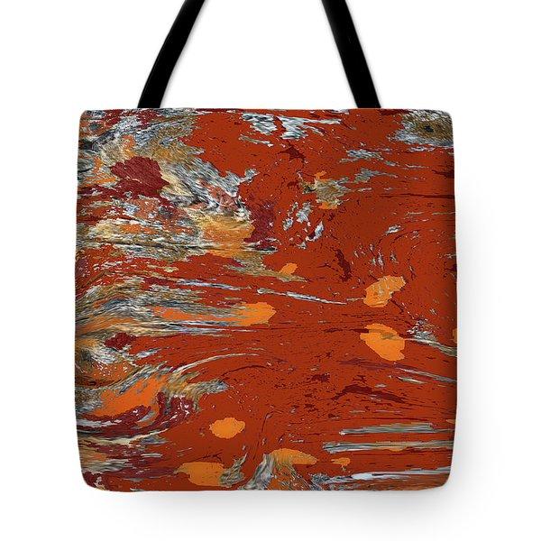 Molten Earth Tote Bag