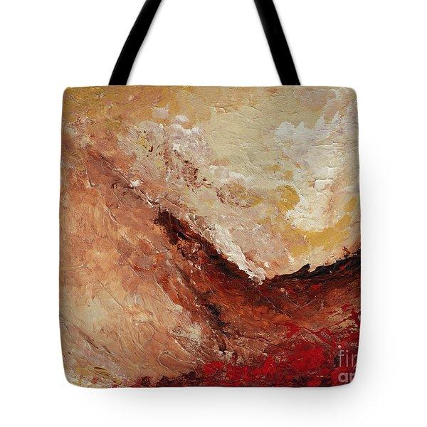 Molten Lava Tote Bag