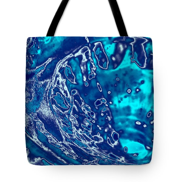 Molten Metal Splash Tote Bag
