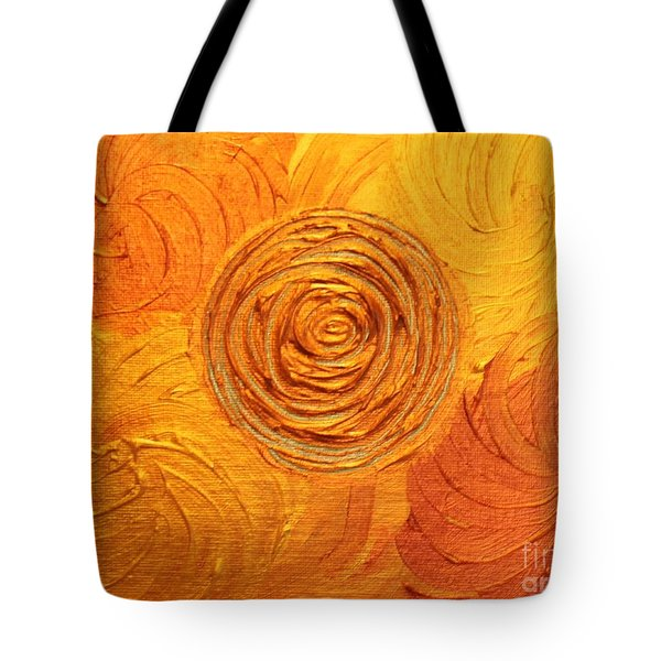Molten Spiral Tote Bag by Rachel Hannah