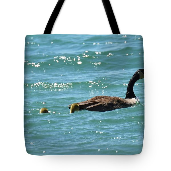 Tote Bag featuring the photograph Mom, I Think There Is A Small Craft Warning by Sally Sperry