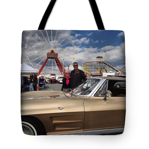 Mom N Vette Tote Bag