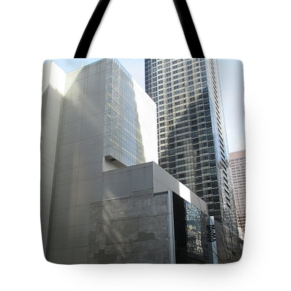 Moma Tote Bag by Christopher Kirby