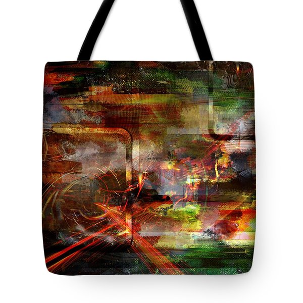 Tote Bag featuring the digital art Moment.. by Art Di