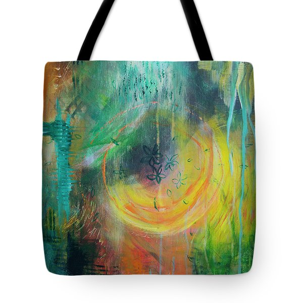 Tote Bag featuring the painting Moment In Time by Jocelyn Friis
