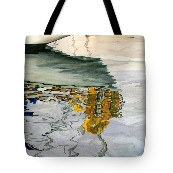 Moment Of Reflection Ix Tote Bag by Marguerite Chadwick-Juner