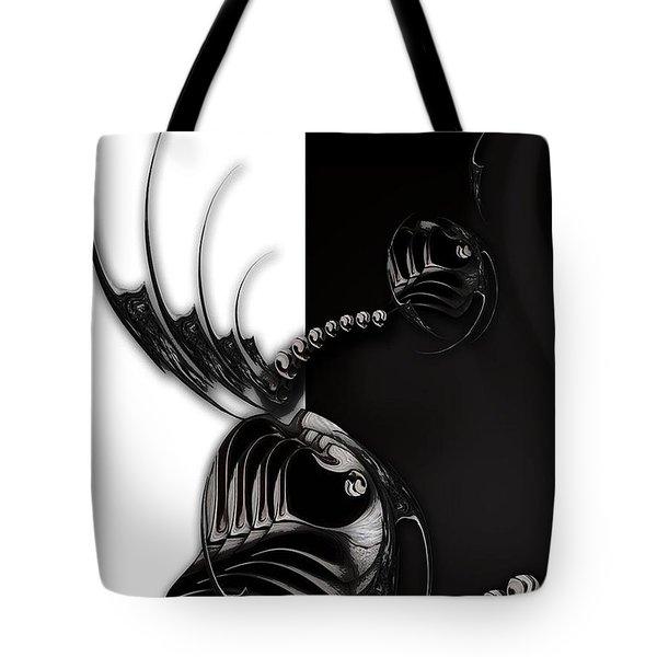 Momentary Impression Of Undefined Abstraction Tote Bag