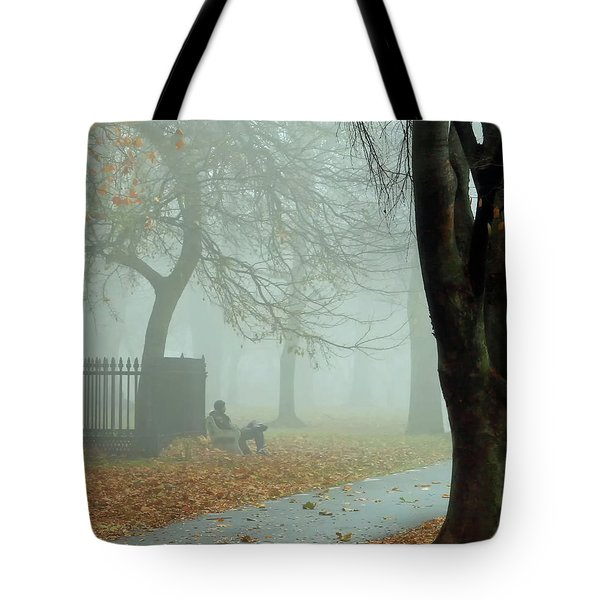 Moments Alone Tote Bag