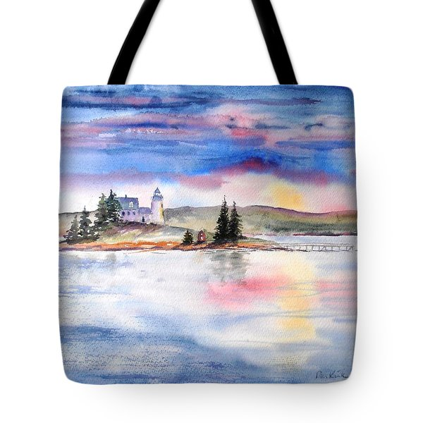Moments Before Sunset Tote Bag