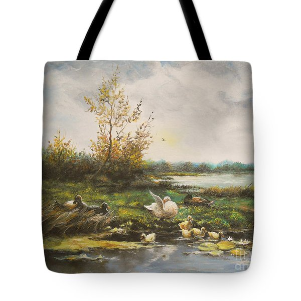 Moments Of Silence Tote Bag
