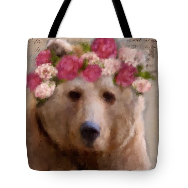 Momma Bear Tote Bag by Lisa Noneman