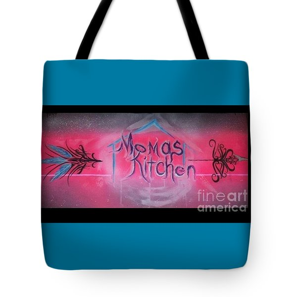Momma's Kitchen  Tote Bag by Talisa Hartley