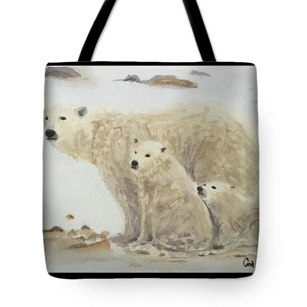 Mommy Bear Tote Bag