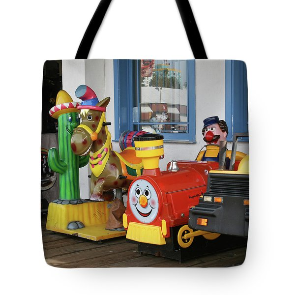 Mommy Let's Ride Tote Bag