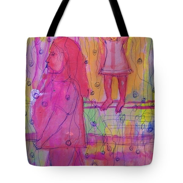 Mommy Pplleasee Look Tote Bag