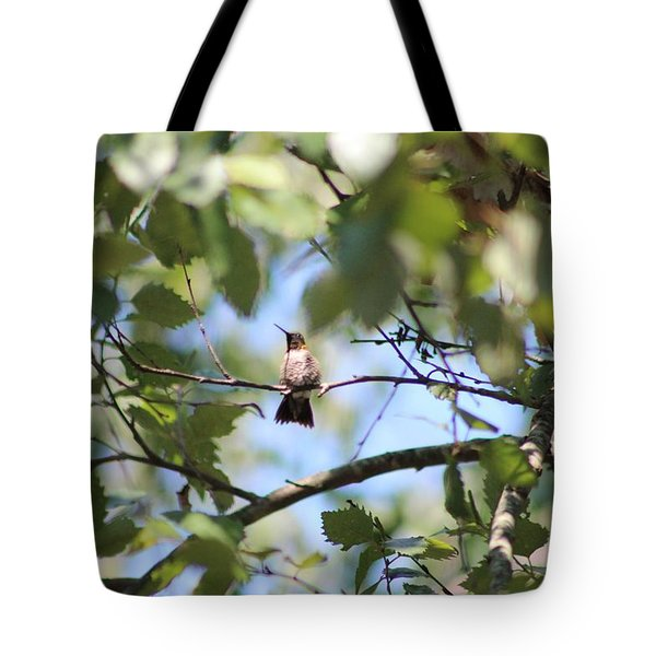 Mommy Watching Babies Tote Bag